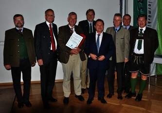 Der Vorstand des Stmk. Forstvereins mit den Referenten der diesjährigen Tagung © Maierhofer