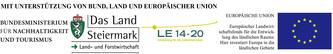 Mit Unterstützung von Bund, Land und Europäischer Union © Maierhofer