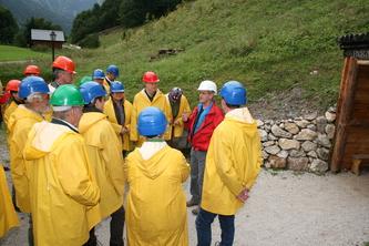 Exkursion 1, Forstbetriebe Hohenberg, Kupferschaubergwerk Radmer © Heidelbauer