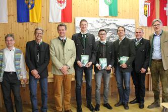 Referenten und Preisträger des Grünen Nachwuchspreises © Maierhofer