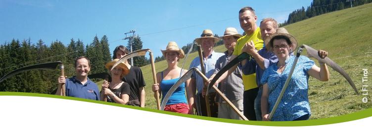 LFI - Bildung mit Weitblick f�r mehr Lebensqualit�t LFI Tirol