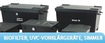 Biofilter / UVC-Vorklärgeräte / Skimmer