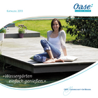 OASE Wassergrten Endverbraucherkatalog Start 2013 (32491) &copy; Archiv