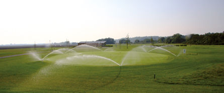 Bewaesserungssysteme Golfplatzbewaesserung © Archiv