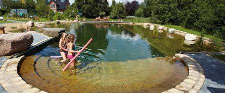 Teichtechnik Schwimmteich © Archiv