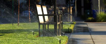 Bewässerungssysteme öffentliche Grünflächen © Archiv