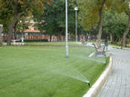 Versenkbewässerung Öffentliche Grünflächen © Archiv