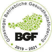 BGF Gütesiegel 19-21 © Archiv