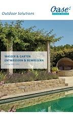 OASE Wasser & Garten / Ent- & Bewässern 2020/21 © Archiv