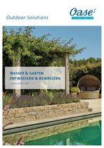 OASE Wasser & Garten / Entwässern & Bewässern Händlerkatalog 2020/21 (32573) © Archiv