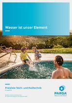 PARGA Teich- und Pooltechnik Preisliste 21 © Archiv