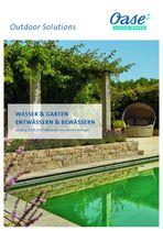 OASE Wasser & Garten / Entwässern & Bewässern Händlerkatalog 2020/21 (aktualisierte zweite Auflage, 62168) © Archiv